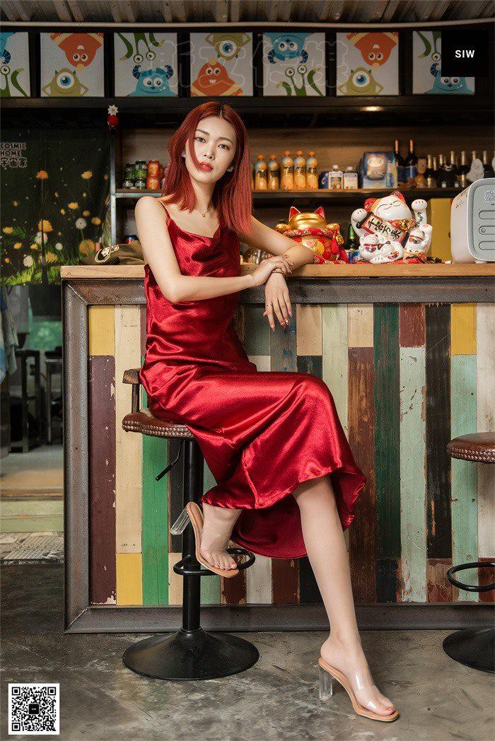 [SIW斯文传媒]VOL.008 烈焰红裙-悦悦[60P/215M]